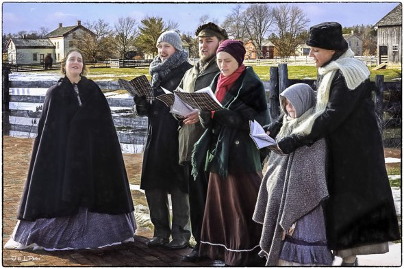 Here We Come A Caroling